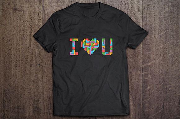 Tetris Love Tshirt