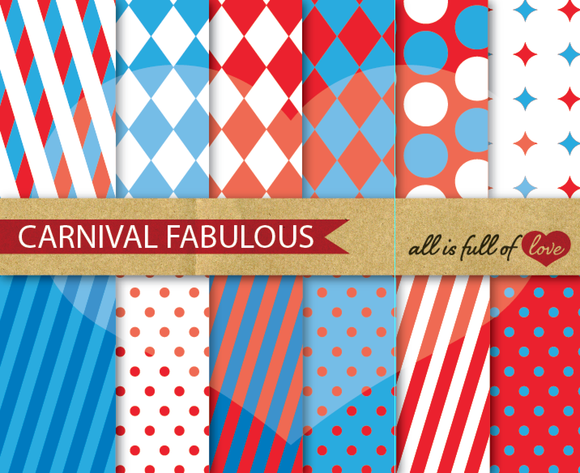 Carnival Background Patterns