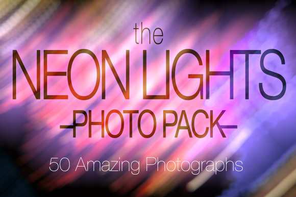 Neon Lights Photo Pack
