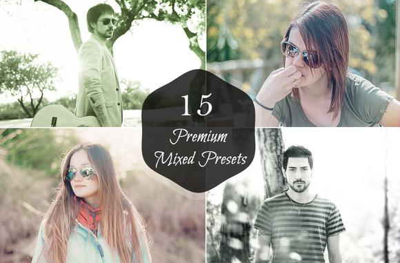 15 Premium Mixed Presets