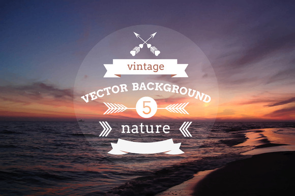 5 Vector Backgrounds Nature