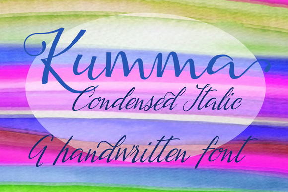 Kumma Condensed Italic