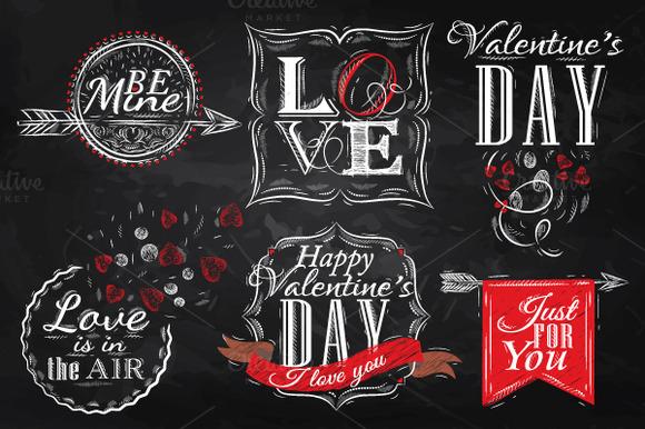 Set Valentine S Day
