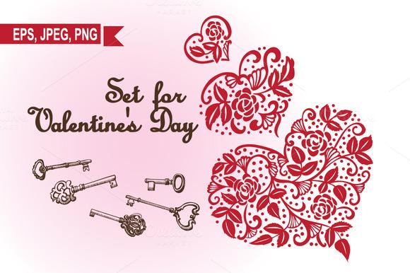 Set For Valentine S Day
