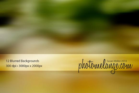 PhotoMelange Blurred Backgrounds