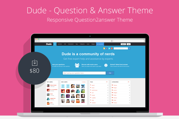 Dude Question And Answer Theme