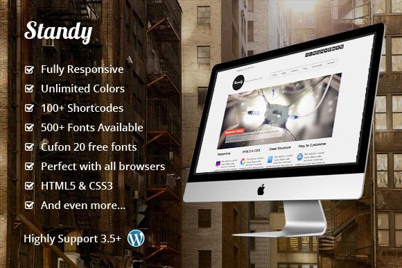 Standy Responsive WordPress Theme
