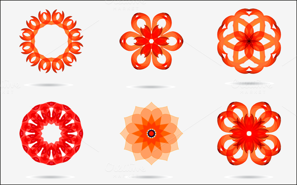 Vector Set3 Of Colorful Design Icons