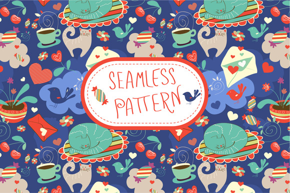 Seamless Pattern Dreams