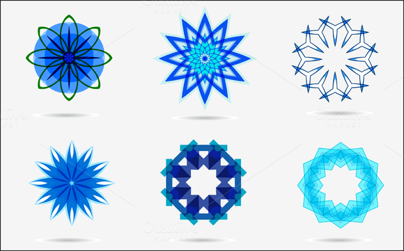 Vector Set4 Of Colorful Design Icons