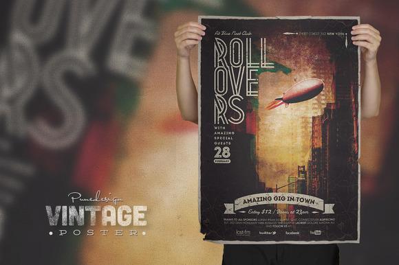 Vintage Poster Flyer 1