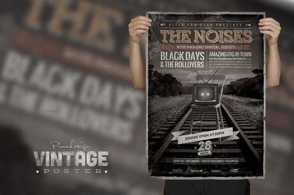 Vintage Poster Flyer II