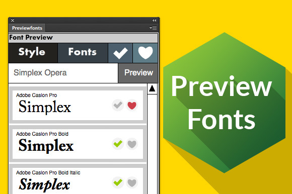 Preview Fonts Cs6 Ps Ai ID Fw