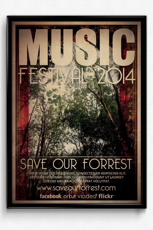 Music Festival Save Our Forrest