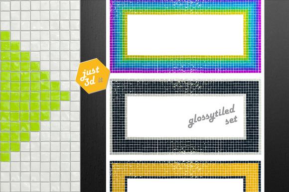 Tiled Frames Funky Set