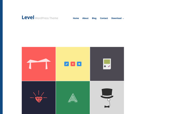 Level Responsive WordPress Theme