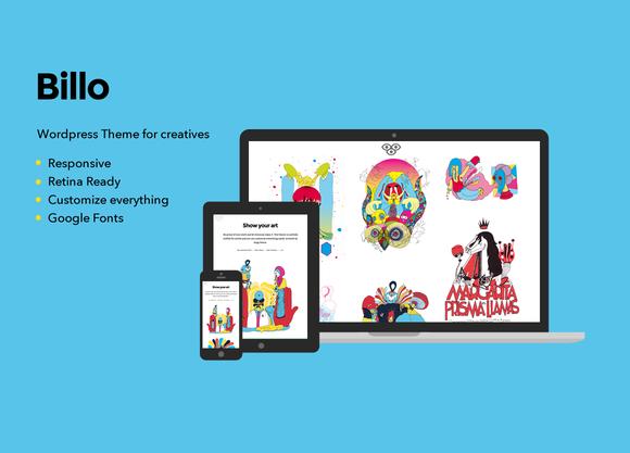 Billo Wordpress Theme For Creatives