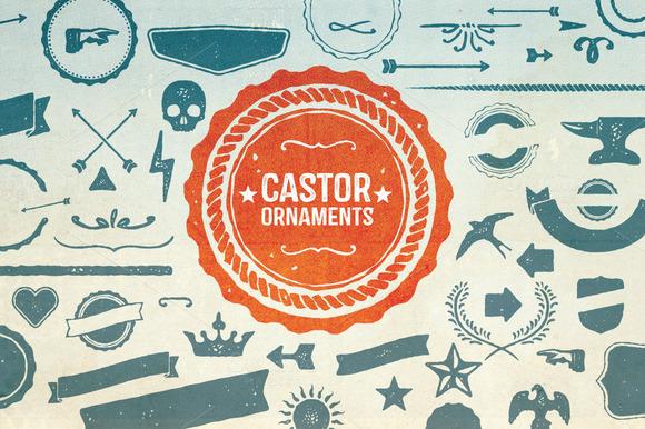 Castor Ornaments