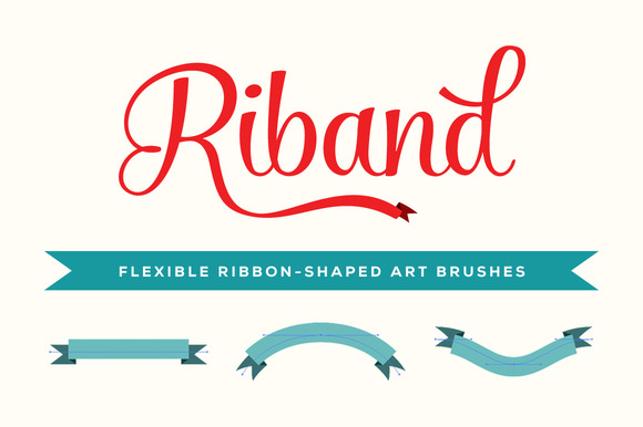 Riband Illustrator Art Brushes