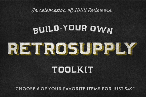 Build-Your-Own RetroSupply Kit