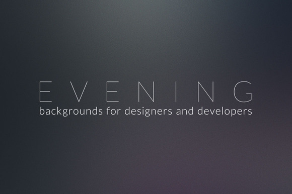 Evening Background Pack