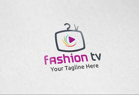 Fashion TV Logo Template