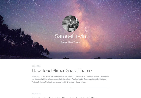 Slimer Ghost Theme