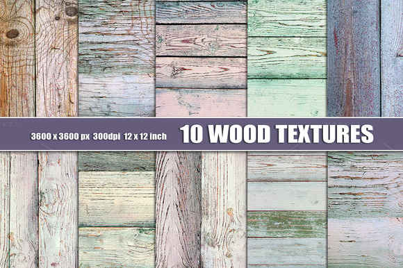 White Wood Texture Background Pastel