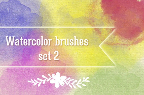 Watercolor Brush Set 2