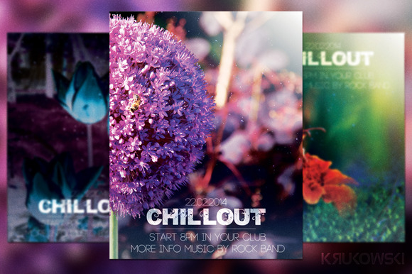 Chillout Flyer