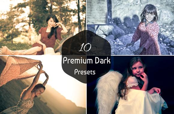10 Premium Dark Presets-V1