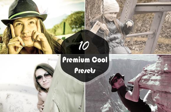 10 Premium Cool Presets-V1