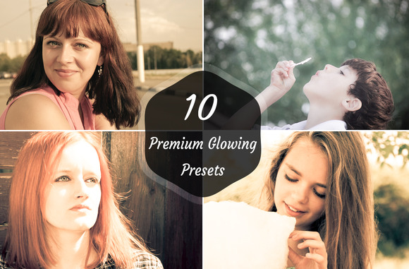 10 Premium Glowing Preset V1