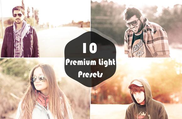 10 Premium Light Presets V1