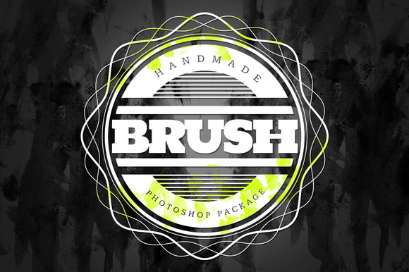 Handmade Brush Pack #6 For Photoshop