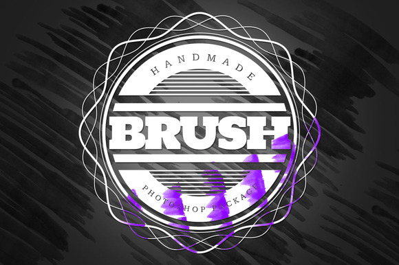 Handmade Brush Pack #5 For Photoshop