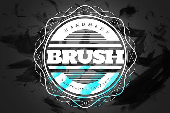Handmade Brush Pack #4 For Photoshop