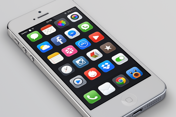 Mojo For IOS 7 Full PSD 50 Icons