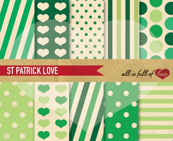 Saint Patricks Day Scrapbooking