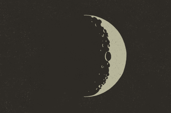 Lunar Moons From Space