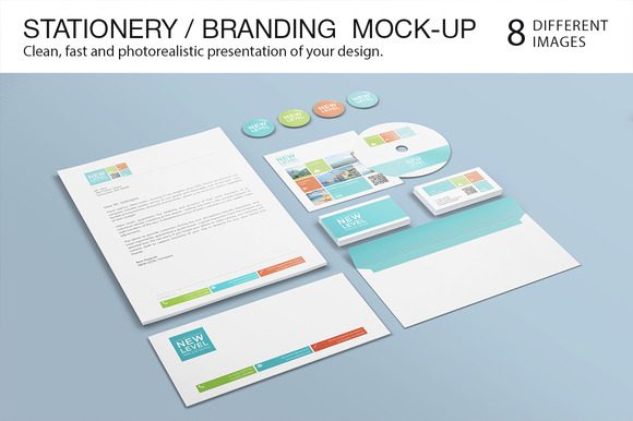 Stationery Branding Mock-Up #2