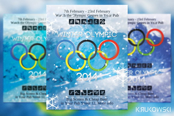 Winter Olympic Flyer