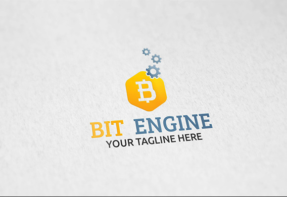 Bit Engine Logo Template
