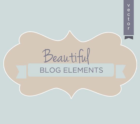 Beautiful Blog Elements Pack