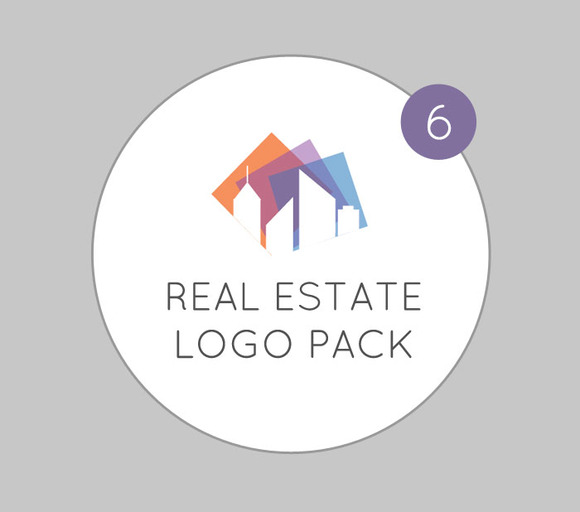 Modern Real Estate Logo Pack
