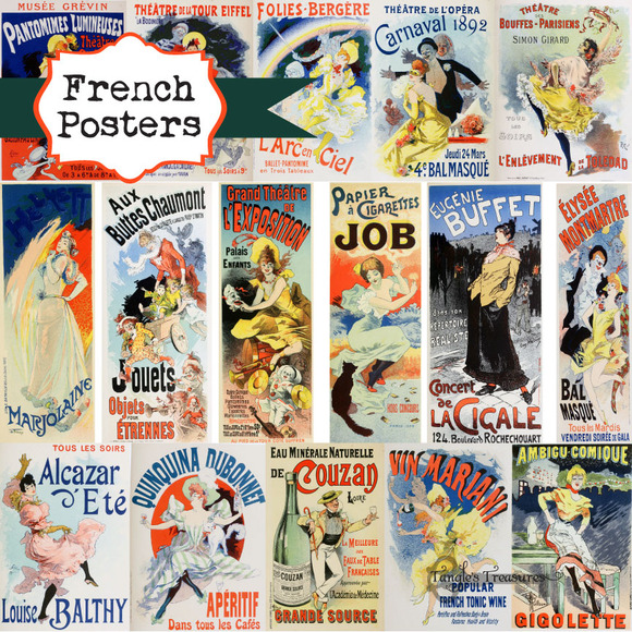 Vintage French Posters