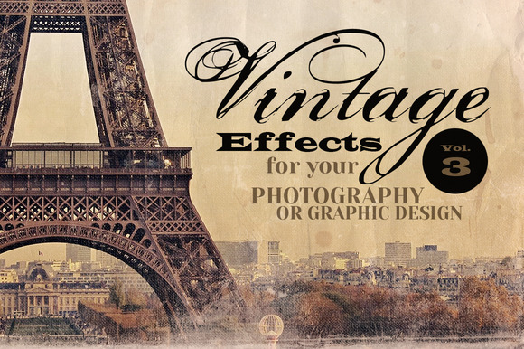 Vintage Effects For Photo Designs 3