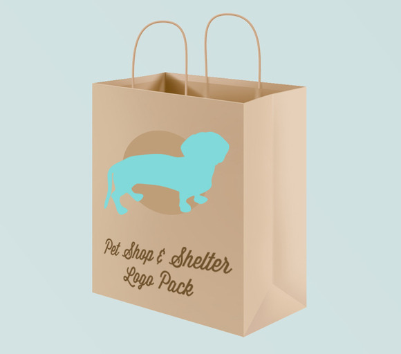 Pet Shop Shelter Logo Pack