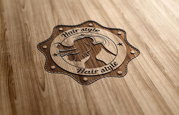 Hair Style Logo Design