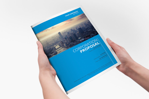 Clear Corporate Template Brochure